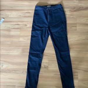 Los Angeles high rise skinny jeans